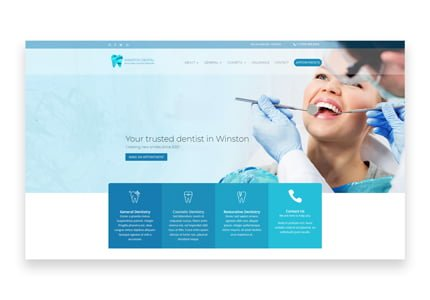 Dentist Website Project