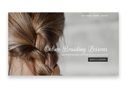 Online Braiding Lessons Project